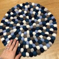 羊毛ボール お座布団の記事に添付されている画像