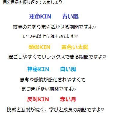 1月20日。KIN87。マヤ暦での過ごし方。の記事に添付されている画像