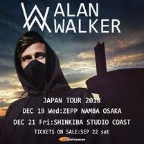 Alan Walker Japan Tour 2018 ライブレポの記事に添付されている画像
