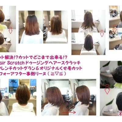 「 髪が多い ・ 拡がる には、 フレンチカットグラン ♪」リーヌ(≧▽≦)の記事に添付されている画像