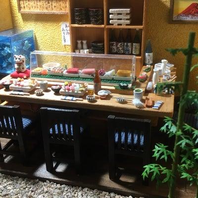 ミニチュアお寿司屋さんが帰ってきての記事に添付されている画像