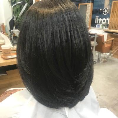 直毛の方はパーマがおすすめの記事に添付されている画像