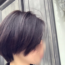 パープルのスウェットでスポーツmix。とnew hair。の記事に添付されている画像