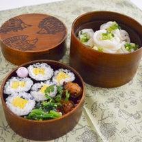 鴨汁つけうどん&巻き寿司弁当。の記事に添付されている画像