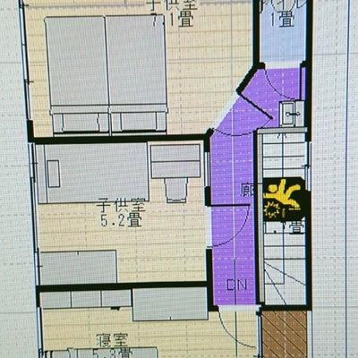 【マイホーム】間取り編⑦ 土間階段でストレート階段!後編の記事に添付されている画像