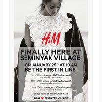 オープン記念でH&Mが先着10名様100%オフ(1ジュタまで)!!の記事に添付されている画像