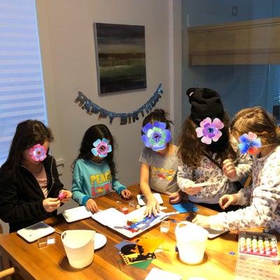 誕生日パーティでポーセラーツの記事に添付されている画像