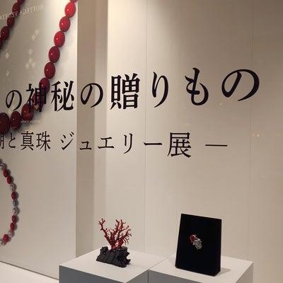 「海からの神秘の贈りもの」銀座・和光/「 日本の美しい布」ミキモトホールの記事に添付されている画像