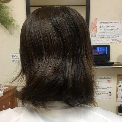 美髪エステの記事に添付されている画像