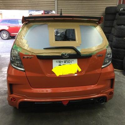 持ち込み 自動車 ガラス 交換 フロント リア ヒビ割れ 修理  R56  ミニの記事に添付されている画像