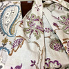 美しい海外からの輸入生地☆リネン刺繍の画像