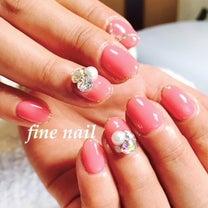 女子力UPピンク♥京都西院 ネイルサロン FINE NAILの記事に添付されている画像