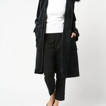 B DONNA スウェードボンディング ファー付きコートの記事に添付されている画像