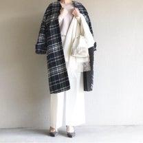 【SALE戦利品】1着は持っていたいチェックのコート!の記事に添付されている画像