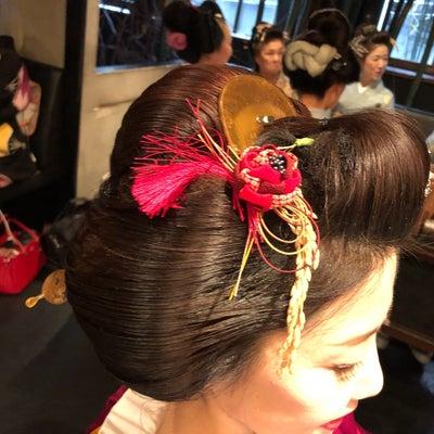 Japanese traditional hairstyleの記事に添付されている画像