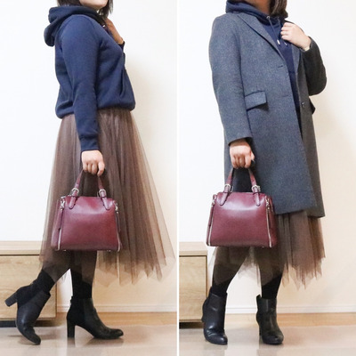 【GU】ぽっちゃり体型 パーカー着こなしのコツ!の記事に添付されている画像