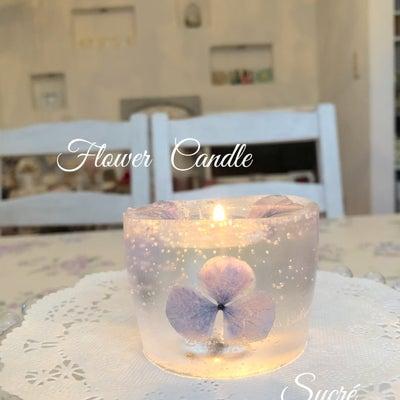 お花のキャンドルの記事に添付されている画像