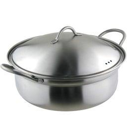 画像 おすすめ土鍋 IH対応 燕三条 ステンレス卓上鍋 の記事より 1つ目