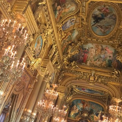 言葉にならないもの。黙って感じていたい時。in Paris オペラ・ガルニエの記事に添付されている画像