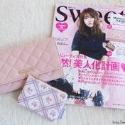 【雑誌sweet2月号♡】可愛すぎ!メゾンドフルール長財布&花柄ポーチ