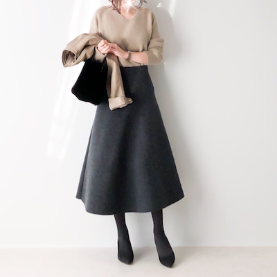 綺麗なシルエットのフレアスカート/義母に一番喜ばれたプレゼントの記事に添付されている画像