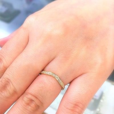 出産お祝いにダイヤリング♡の記事に添付されている画像