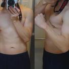 H31年1月14日までの体型変化グラフとビフォーアフター比較写真の記事より