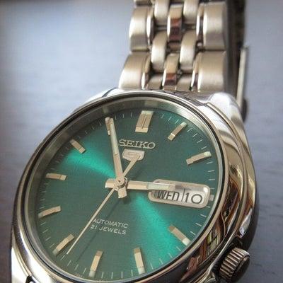 腕時計(12)『SEIKO5(セイコーファイブ)』の記事に添付されている画像