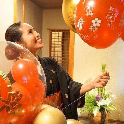 京料理 × バルーンアートの記事に添付されている画像