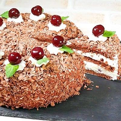 黒い森のさくらんぼケーキの作り方&プレゼントラッピングの記事に添付されている画像