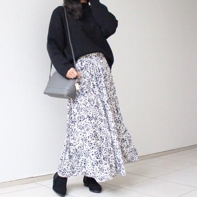 【しまむらのレオパ柄スカートで】トレンドたっぷりな休日コーデの記事に添付されている画像