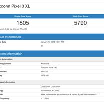 「Google Pixel3 Lite XL」のGeekbenchのベンチマークの記事に添付されている画像