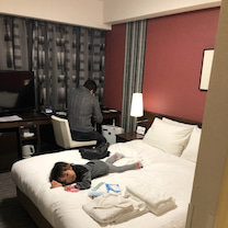 九州家族旅行一泊目ホテルの記事に添付されている画像