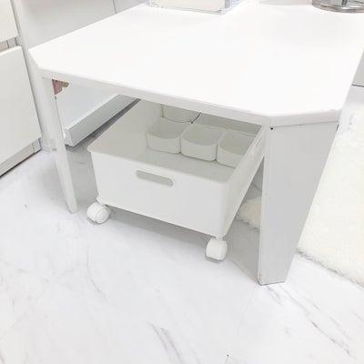 ニトリで作る可動式メイクボックス!リバウンドしない収納のコツ☆の記事に添付されている画像