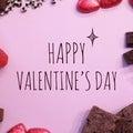 #バレンタインチョコの画像