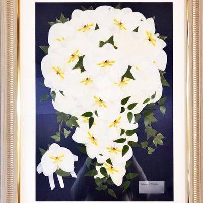 胡蝶蘭の押し花ブーケの記事に添付されている画像