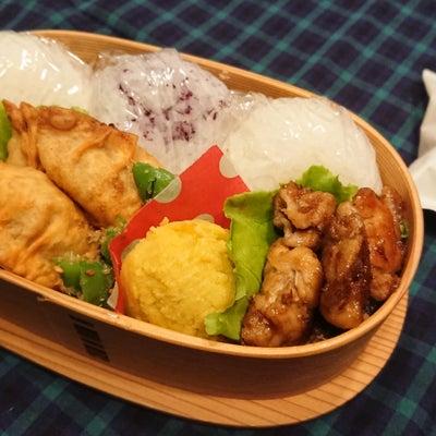 揚げ餃子弁当☆週末に焼いたパンの記事に添付されている画像