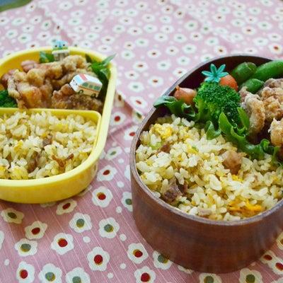 唐揚げ&炒飯弁当。の記事に添付されている画像