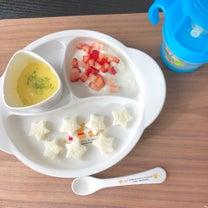 パンつかみ食べとボーロ失敗作(9m21d)の記事に添付されている画像