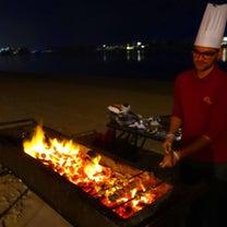 自宅前のプライベートビーチでBBQ♡新年から賑やかに皆んなと過ごせて幸せです❤️の記事に添付されている画像