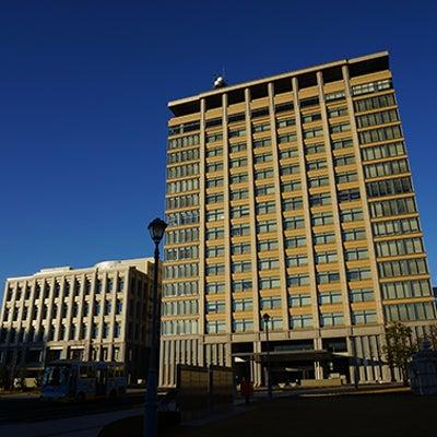 栃木県庁の写真の影を消去して建物の歪みを修正しました。の記事に添付されている画像