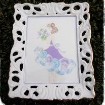 ☆ブラッシュアップレッスン 転写紙と絵の具で描く1ファイヤードレス女の子☆の記事に添付されている画像
