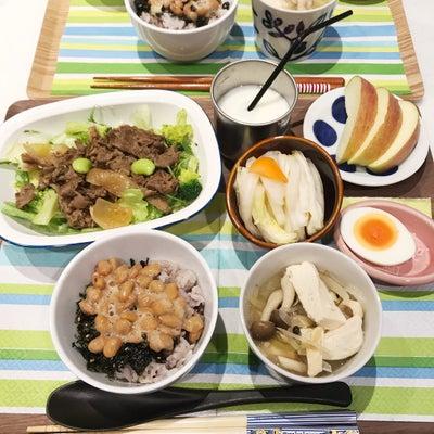 お肉のせサラダ*野菜を、たくさんの記事に添付されている画像