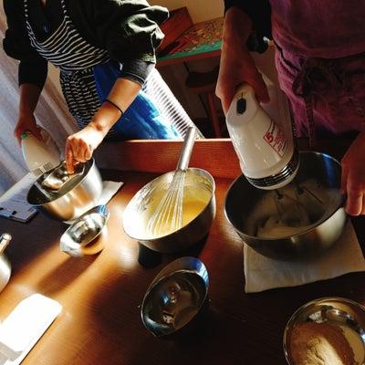 【レッスンレポ】かんたん米粉シフォンの記事に添付されている画像