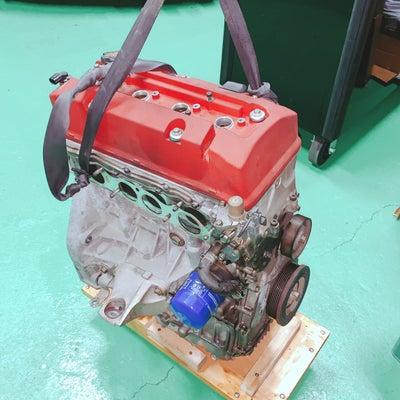 F20C改2.2L、B型エンジン燃焼室加工はポート加工の延長です、ハルテックからの記事に添付されている画像