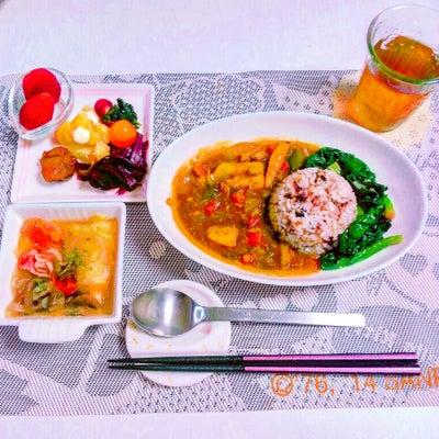本日のお弁当&サバ缶カレーの記事に添付されている画像