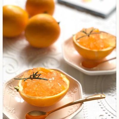 いただきもののレモンを使ってレモンゼリーの記事に添付されている画像