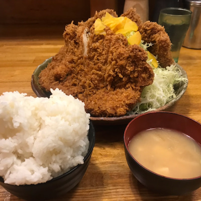 【デカ盛り】裏メニュー LEVEL4 2枚の壁【撃沈】@洋食工房パセリ 名古屋市の記事に添付されている画像