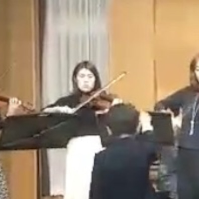 ヴァイオリンアンサンブル♪ニューイヤーコンサート~生徒さんと新年会の記事に添付されている画像