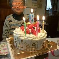 今日はいちごの日  Birthdayケーキの記事に添付されている画像